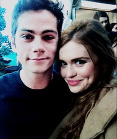 Dylan O´Brien and Holland Roden - Stydia