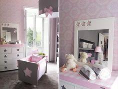 Quartinho de bebê: rosa e cinza « Constance Zahn – Blog sobre bebês e crianças para mães antenadas