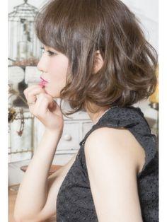 キープ KEEP 【keep hair design.木田】☆ウェービー大人ボブ