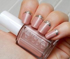 Image from http://www.bestnailsart.com/wp-content/uploads/pink-ivory-pink-with-silver-accent-pink-nail-designs-famous-style-and-cute-pink-nail-designs.jpg.