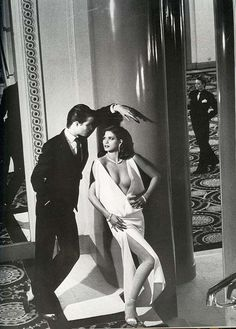 Gia Carangi Editorials: Vogue Paris March 1980 Photographed by Helmut Newton