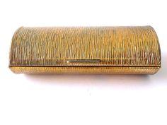 Oval Golden Metal Vintage Box  Purse / Bag by PortugueseWonders, $14.00