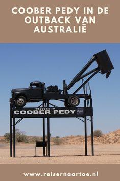 Coober Pedy in de outback van Australië - Reis ernaartoe Van, Vans, Vans Outfit