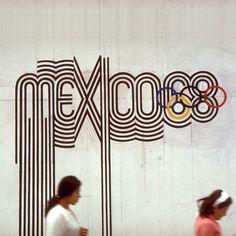 1968 Mexico Olympics design