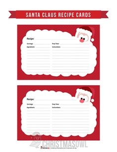 Hottest Totally Free printables recipe cards Suggestions In the end of recently, I became on the lookoutregarding the right planner. I've got to have got explored by w. Recipe Page Printable, Recipe Printables, Free Christmas Printables, Free Printables, Christmas Journal, Christmas Projects, Santa Cookie Recipe, Recipe Paper, Christmas Cookie Exchange