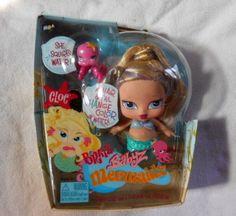 BRATZ BABYZ Mermaidz Cloe New in Box Hair Changes Color in Water Squirts Water #DollswithClothingAccessories