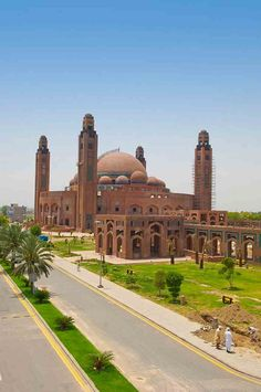 Grand Jamia Mosque, Lahore, Pakistan.
