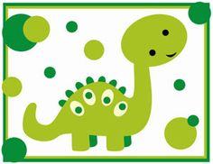 Dino Nursery Wall Border. Graphics by Revidevi