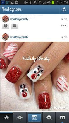 rudolph nails!