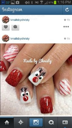 rudolph nails!