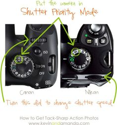 """This is one of the best photography tutorials I've read! On how to get sharp action photos"""