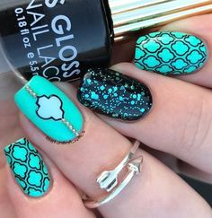 Members of the younger population will choose this kind of manicure as well.