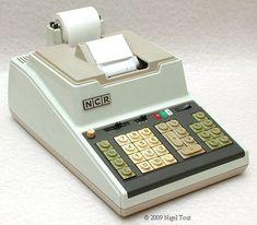 ONE Original National cash register company # 6 Key Fits Many Models NCR