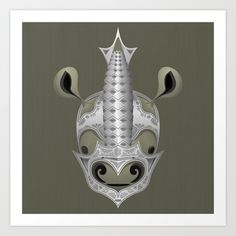Supporting the end of trade with cool :) Designs to support protect Ivory Trade, Rhinos, Cancer Cure, Rhinoceros, Elephants, Horns, Illustration Art, Wildlife, Art Prints