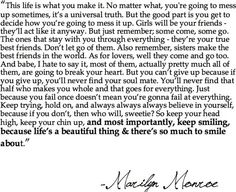 marilyn monroe. i love everything about this