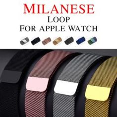 Milanese Loop Pulseira For Apple Watch band Iwatch Strap link Bracelet Stainless Steel Watchband Apple Watch Price, Apple Watch Bands 42mm, Cheap Watches, Apple Watch Series, Stainless Steel Bracelet, Link Bracelets, Brand Names, Iphone, Chf