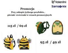 LIPIEC - Promocja: do każdego zakupu plecaczki Sammies w obniżonej cenie.