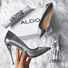 Buy Women Shoes(Order 1 size up)Metal Mania Stiletto High Heel Wedding Pumps Slip on Dance Patent Plus Size 36 - 10 cm) at Wish - Shopping Made Fun Stilettos, Women's Pumps, Stiletto Heels, Aldo Shoes, Women's Shoes, Me Too Shoes, Shoe Boots, Shoes Sneakers, Shoes 2017