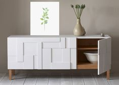 The Impressive Modern Dining Room Buffet and Living Room Brilliant Awesome Modern Dining Buffet Ideas Startupio 89661 is among images of decorating ideas f Sideboard Dekor, Sideboard Modern, White Sideboard, White Buffet, Sideboard Buffet, Modern Buffet, Wood Buffet, Modern Dresser, Credenza