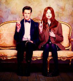 11 Doctor and companion! Nuff said again!!