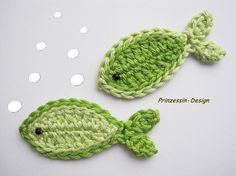 Crocheted fish. I don't crochet, but if I did...