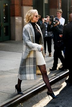 Jennifer Lawrence, Leaving the Greenwich Hotel in New York (December...