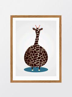 MinStreg: Giraffe