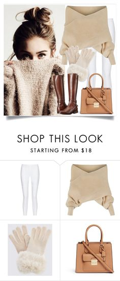 """Sweater Weather"" by anemone-ci ❤ liked on Polyvore featuring 10 Crosby Derek Lam, WithChic, Michael Kors, Frye and wintersweater"