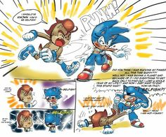 Punch by Drawloverlala gender swap a change in how it happened in the Archie comics Classic Cartoon Characters, Sonic Fan Characters, Classic Cartoons, Sonic And Amy, Sonic Boom, Hedgehog Art, Sonic The Hedgehog, Learn To Draw Anime, Sonic Funny