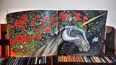 Mythomorphia Kerby Rosanes The Unicorn #mythomorphia #kerbyrosanes #unicorn #einhorn #prismacolor #rose #rosen