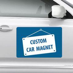 Square Business Card Custom Printing Social Media Custom - Custom car magnets business