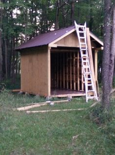 DIY Home Decorations Blog  Built a Lumber Storage Shed  http://ift.tt/2o3pfVC