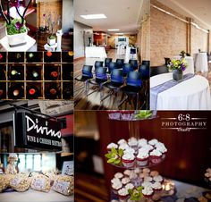 Traditional New York City-style bistro with modern decor and energetic atmosphere, and a wood-burning grill along with an extensive wine and cheese program. Wine Cheese, City Style, Wedding Images, Calgary, Modern Decor, Wedding Venues, Traditional, Table Decorations, My Favorite Things