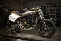 RocketGarage Cafe Racer: Ducati Tracker Il Mostro by Earle Motors