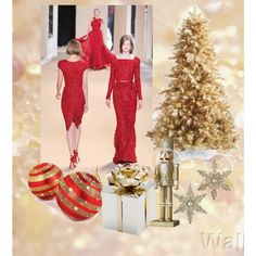 """Christmas Party Time"" by amy-chow on Polyvore"