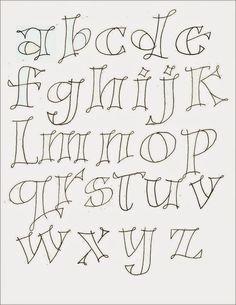 different lettering styles alphabet Hand Lettering Fonts, Doodle Lettering, Creative Lettering, Handwriting Fonts, Brush Lettering, Penmanship, Lettering Styles Alphabet, Font Art, Lettering Ideas
