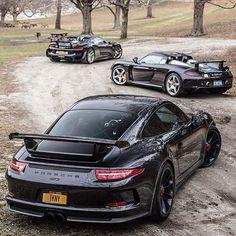 GT3, Carrera GT or 918 ? | Photo Via: @Exotic_Car_Lover