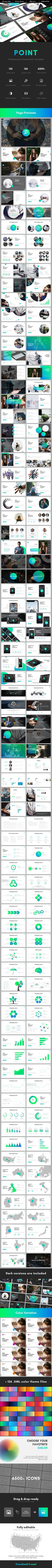 Point Multipurpose PowerPoint Template - Business PowerPoint Templates