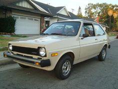 My first car, a 1980 Ford Fiesta