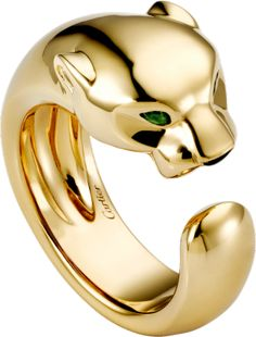 Panthère de Cartier ring Yellow gold, onyx, tsavorite garnet Put this on my holiday wish list Cartier Jewelry, Resin Jewelry, Gold Jewelry, Jewelry Rings, Bullet Jewelry, Gothic Jewelry, Bracelet Designs, Ring Designs, Cartier Panther Ring