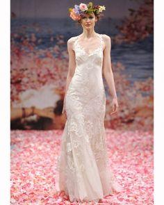 robe de mariée champêtre-chic