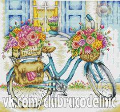 Photo Easy Cross Stitch Patterns, Cross Stitch Bird, Simple Cross Stitch, Cross Stitch Flowers, Cross Stitch Charts, Cross Stitching, Embroidery Art, Cross Stitch Embroidery, Paper Quilling