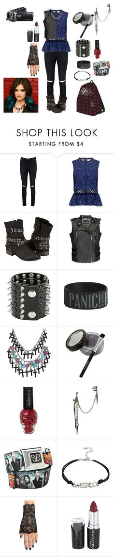 """Untitled #179"" by hope2002 ❤ liked on Polyvore featuring Boohoo, Sea, New York, Dirty Laundry, Daytrip, Hot Topic and Sony"