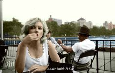 My Colorized Marilyn in Central Park on June 12th 1957 Photographed by her good friend Sam Shaw. I hope you all Enjoy!