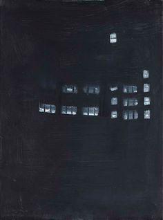 Alex Katz Night oil on masonite 24 1/8 x 18in. (61.4 x 46cm.)