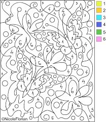 Image result for easy colour by numbers printables