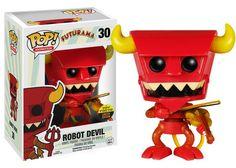 Robot Devil (w/ Violin) Pop! Animation « Funko Pop! Price Guide « Pop Price Guide
