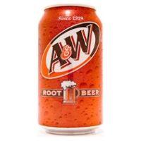 A & W Root Beer Soda - yummmm!:-)