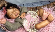 REBORN ETHNIC AA BIRACIAL BABY GIRL  ~JOSIE LEIGH~  Connie Burke #Unbranded