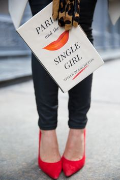 Kate Spade 'Paris and the Single Girl' Book Clutch Charlotte Tilbury Makeup Bag, Sweater Weather, Tuileries Paris, Book Clutch, Clutch Bag, Kate Spade Clutch, Gal Meets Glam, Glamour, Oui Oui